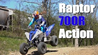 4. Yamaha  Raptor 700 Ride Action 2016