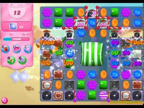 Candy Crush Saga Level 4533 (No boosters)
