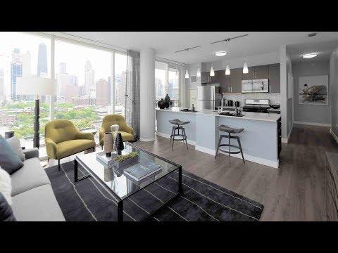 Tour a 2-bedroom, 2-bath model at River North's new Niche 905