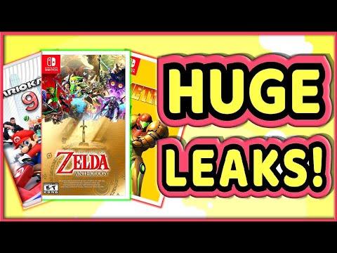 NEW Nintendo Switch Leaks Appear | HUGE 2021 Nintendo Direct?