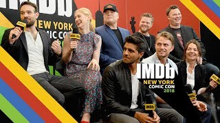 """Video Charlie Cox of """"Daredevil"""" Reveals Why His Black Suit is Back 