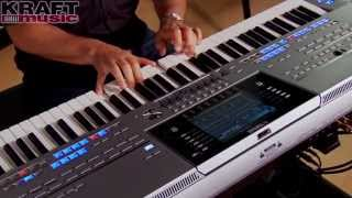 Download Lagu Kraft Music - Yamaha Tyros5 Demo with Peter Baartmans Mp3