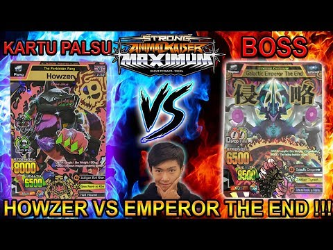 Lawan The End Pakai Howzer Palsu/fake !!! - Strong Animal Kaiser Max 4 #16