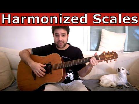 Advanced Fingerstyle: Harmonized Scales – Guitar Lesson Tutorial w/ TAB