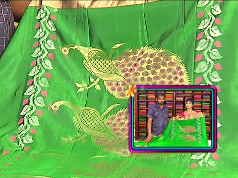Latest Collection of Bridal Designer Sarees | Sogasu Chuda Tarama | Vanitha TV 27 September 2015 04 53 PM