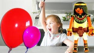 Video Ballons Surprises Playmobil History Set 5388 (Unboxing) ! Couleurs et tir à la catapulte MP3, 3GP, MP4, WEBM, AVI, FLV Juni 2017