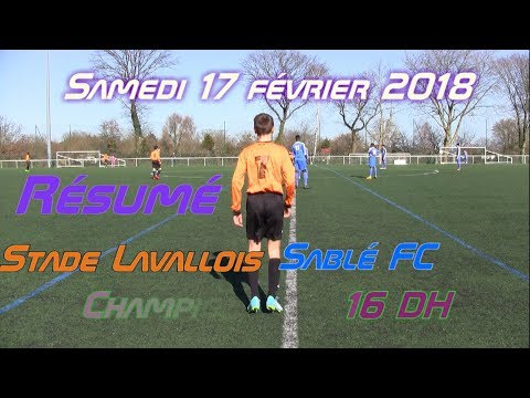 U16 Stade lavallois - Sablé FC 17.02.2018