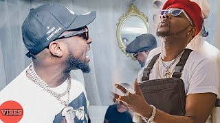 Davido Slapped Kizz Daniel Backstage At His Davido Live In Concert 2018
