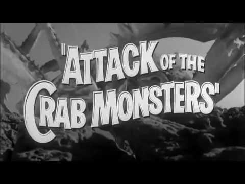 Attack of the Crab Monsters 1957 trailer