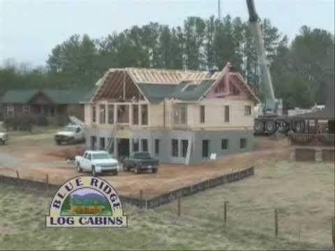 Blue Ridge Log Cabins TIMELAPSE