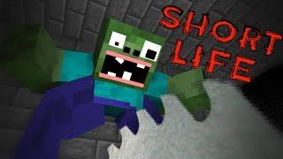Video Monster School : SHORT LIFE CHALLENGE - Minecraft Animation MP3, 3GP, MP4, WEBM, AVI, FLV Juni 2018