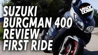 5. Suzuki Burgman 400 Review First Ride | Visordown.com