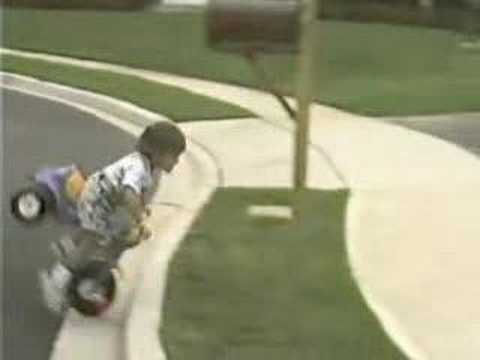 Funny Tricycle Accident Montage