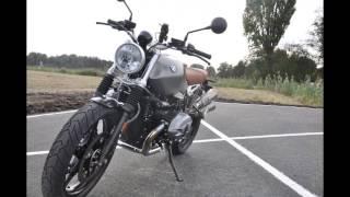 9. BMW NineT Scrambler - walk around + engine start & exhaust sound
