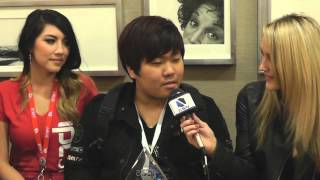 Leenock the IPL 5 Champion sits with all the girls