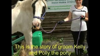 Groom Kellie saves Polly the Pony from serious injury