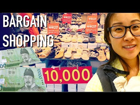 🚌Express Bus Terminal [고속터미널] Underground Mall $20 Bargain Shopping