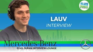 Video How Lauv Got Started in the Music Industry | Elvis Duran Show MP3, 3GP, MP4, WEBM, AVI, FLV Juni 2018