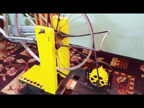Video Free energy generator homemade 220v attached to bicycle.DIY free electricity generator download in MP3, 3GP, MP4, WEBM, AVI, FLV January 2017