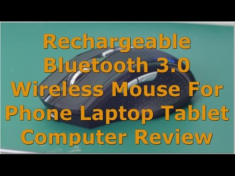 Elegant Productive Rechargeable Bluetooth 3 0 Wireless Mouse For Phone Laptop Tablet Computer Review