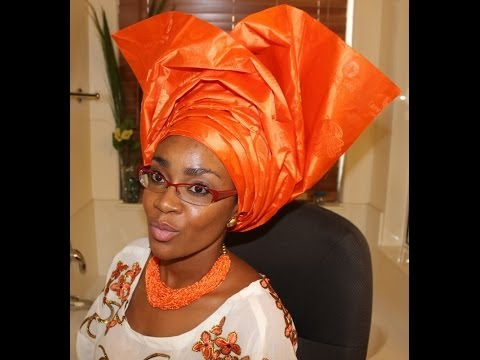 How to tie Gele:  Ewi style & Trad OOTD ft. ChicGele.com