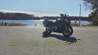 3. 2015 FJR1300 A Owner Review