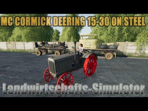 McCormick Deering 15-30 on steel V1.0
