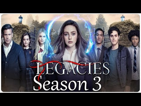 LEGACIES Season 3 First Look (2020) With Danielle Rose & Thomas Doherty
