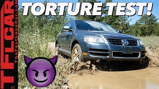 We're SHOCKED And Surprised By How Our Cheap VW Touareg Performed Off-Road! by The Fast Lane Car