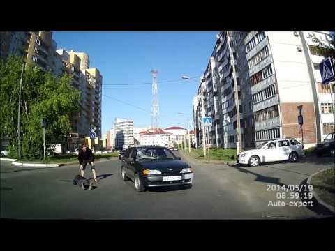 Авария с Пешеходом в Омске