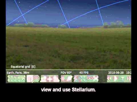 Stellarium tutorial