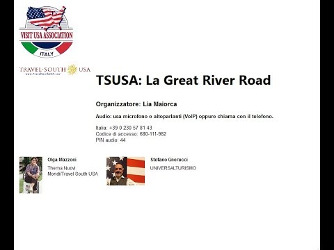Video TSUSA: La Great River Road (16-4-2019)