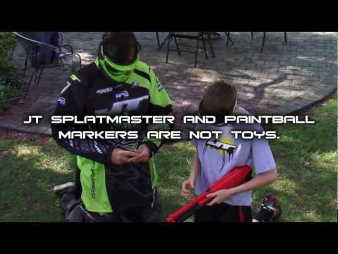 JT SplatMaster - Safety Warnings - Safety