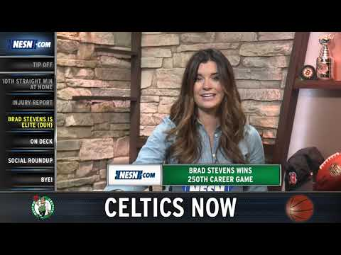 Video: Celtics Now: Brad Stevens' Historic Win, Celtics Red Hot