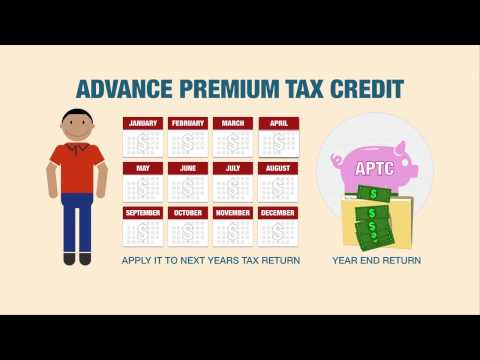 Tax Credit - This video explains the advance premium tax credit and the different ways in which you can apply it to lower the cost of insurance for you and your family. W...