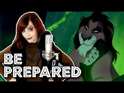"Jeremy Irons  ""Be Prepared"" Cover by Cat Rox"