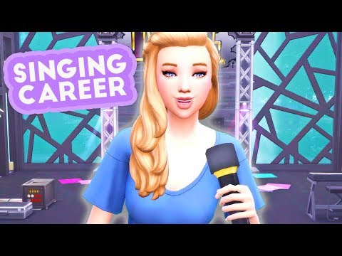 BECOME A SINGER🌟🎤🎼 // SINGING CAREER MOD REVIEW | THE SIMS 4