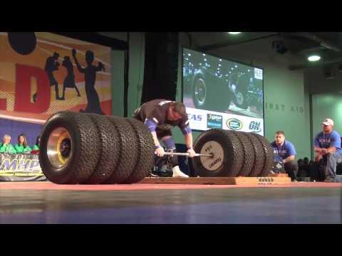 Người đàn ông khỏe nhất thế giới 2014 - nâng tạ 523kg :D