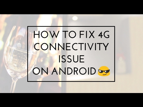 Fix 4G Connecting Issue (Asus Zenfone And Other Phones)