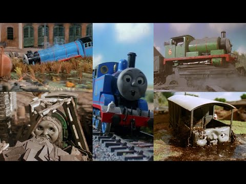 Thomas and Friends Crashes & Accidents (Series 1 - 5)