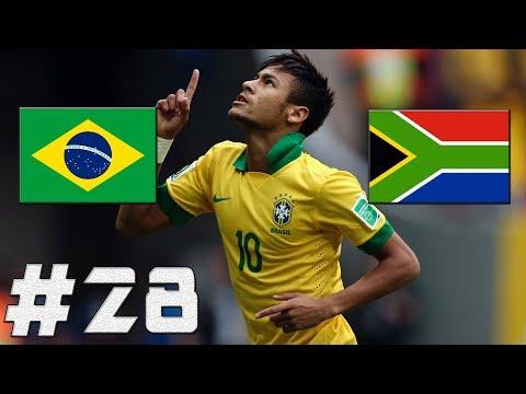 FIFA 17 | Brazílie-JAR | MS 2018!!! | PART 28 | XBOX ONE | CZ/SK