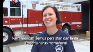 Video Pelatihan Khusus Pemadam Kebakaran Bagi Perempuan di AS - Liputan Feature VOA MP3, 3GP, MP4, WEBM, AVI, FLV Desember 2017