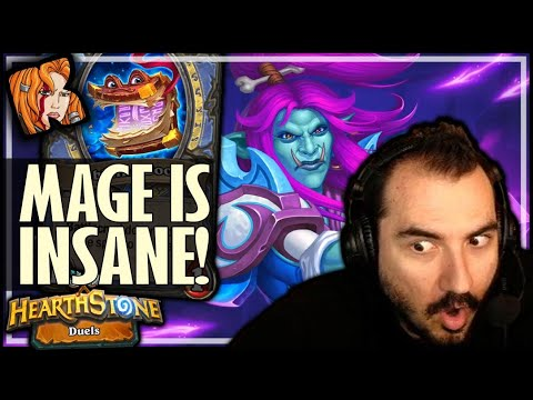 TURNS OUT MAGE IS PRETTY INSANE IN DUELS! - Hearthstone Duels