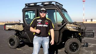 4. 2019 Can-Am Defender Max HD10 Walk Around. SECRET GUN STORAGE! Snider Motorsports Custom Build