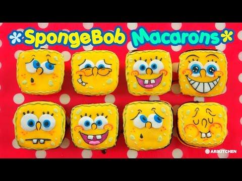 Spongebob Macaron! - Ari Kitchen