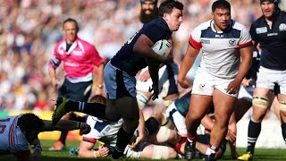 Scotland v USA - Full Match Highlights |  Rugby World Cup Video - Scotland v USA - Full Match Highli