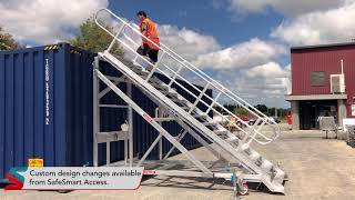 Craneable Formwork Stairs - Demonstration