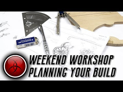 Weekend Workshop – planning the 90 Hour Guitar – Ben is insane!