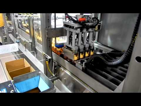 SPP Diverter Bottles Honey Case Packer