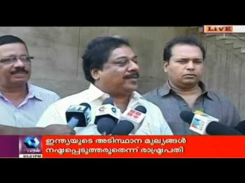Minister K.Babu Asked For 10 Crores  Alleges Biju Ramesh 07 October 2015 05 38 PM